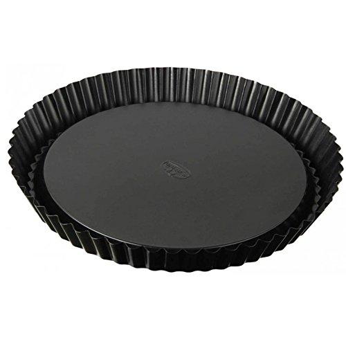 dr-oetker-tradition-22-cm-non-stick-bakeware-flan-tin-black