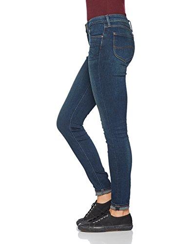 Lee Damen Skinny Jeanshose Scarlett Blau (Mean Streaks Kims)