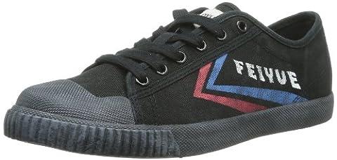 Feiyue Fe Lo Ii Origine 1920, Baskets mode mixte adulte - Noir (680), 37 EU