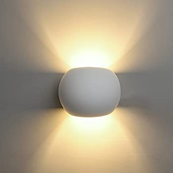 DECKEY Wall Light Indoor LED Up and Down Lamp Uplighter ...