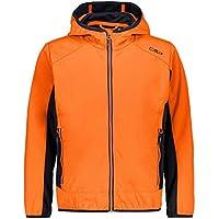 CMP Fix Hood - Chaqueta con capucha para niño, color naranja, tamaño 152