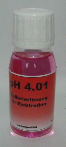 Kalibrierlösung Pufferlösung pH 4.01 für pH Elektroden 70 ml -