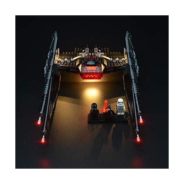 LIGHTAILING Set di Luci per (Star Wars Kylo Ren's Tie Fighter) Modello da Costruire - Kit Luce LED Compatibile con Lego… 3 spesavip