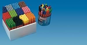 Berol lavable couleur large crayons feutres - Couleurs assorties (Tube de 42)