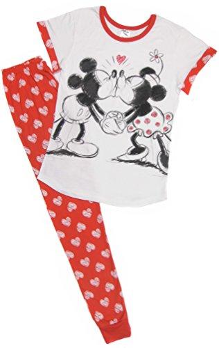 Ladies Character Pyjamas Choose from Super Woman Tinkerbell Eeyore Marvel Heroes Minnie Mouse