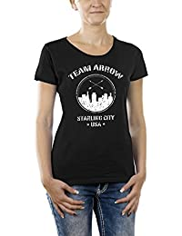 Touchlines Damen T-Shirt Team Arrow