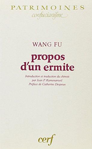 Propos d'un ermite par F-U Wang