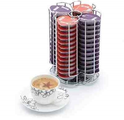 Home Treats Tassimo T-Disc Coffee Capsule Holder, Up to 56 Pods by Home Treats