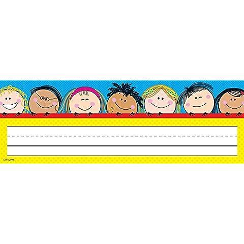 Creative Teaching Press ctp4492sorridente Stick Kids Nome