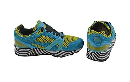 Puma, Sneaker donna Verde Sulphur Spring-Blue Atoll Verde (Sulphur Spring-Blue Atoll)