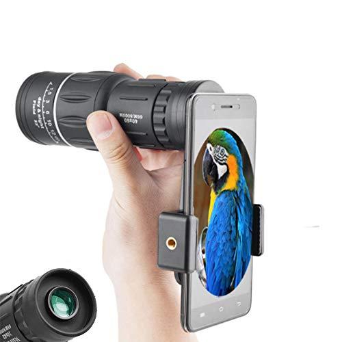 Ledu Vogelbeobachtungsteleskop 40x60, wasserdicht, monokular für die Jagd, Camping, Wandern, leicht zu tragen, Reisehobby