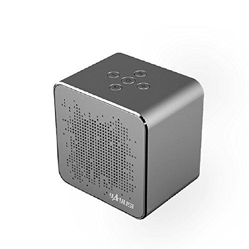 Altoparlante bluetooth impermeabile con connessione double-up, mini altoparlanti portatili wireless ricaricabili all'aperto con led, audio stereo, bassi avanzati, microfono incorporato per iphone / ipad / andriod / samsung / tablet