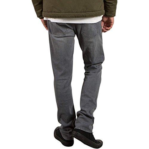 Volcom Herren, Straight Leg, Jeans, 2X4 DENIM Power Grey