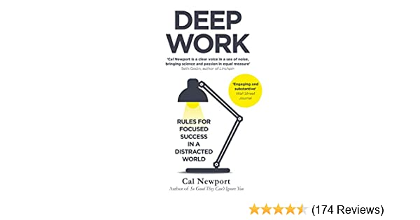 bf417b65e1 Deep Work: Rules for Focused Success in a Distracted World eBook ...
