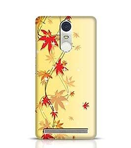 Lenovo K5 Note Case Bumper Shinning Flowers for Lenovo K5 Note Multicolor