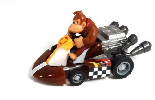 "Mario Kart TOMY Gashopan Pull Back Racer-1.5\"" Donkey Kong"