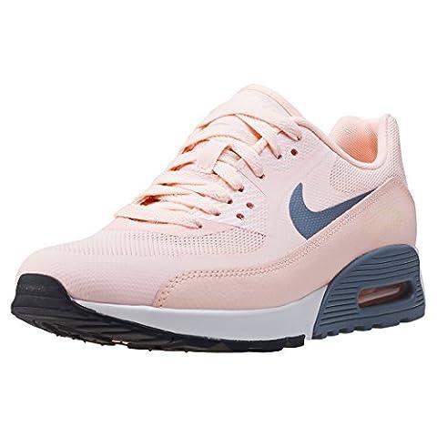 Nike Damen W Air Max 90 Ultra 2.0 Turnschuhe, Pink (Sunset Tint/Cool Grey/Summit White/Black), 38