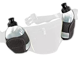 PEARL sports Zubehör zu Trinkgurt: Ersatztrinkflaschen für NC-2819, 2er Set (Trinkgürtel mit Trinkflasche)