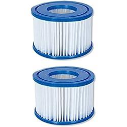 Bestway Flowclear Filterkartuschen Gr.II 10,6x13,6 cm, 2er-Set