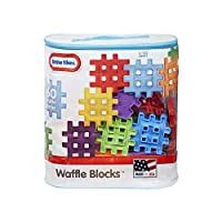 ‏‪Little Tikes Building Blocks - 3 Years & Above, 60 Pieces‬‏