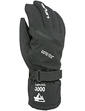 Level Evolution Gore-Tex Guantes, Hombre, Negro, 8