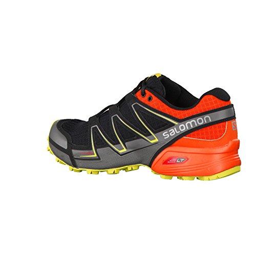 Salomon Speedcross Vario Scarpe Da Trail Corsa Nero/Arancio/Giallo