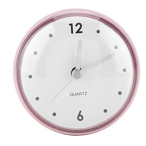 FTVOGUE wasserdichte Wanduhr Mini Runde Saugnapf Spiegel Uhr Home Badezimmer Dusche Zimmer Küche Zeitmessgerät(Grün) (Dusche Uhr)