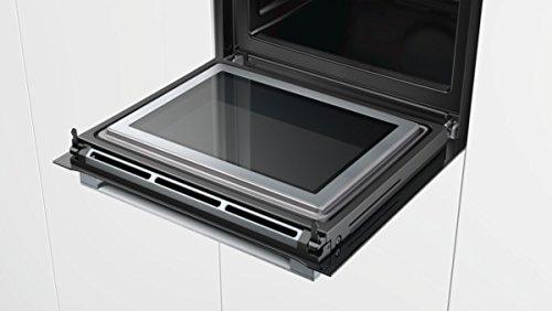 Bosch HNG6764B6 Serie 8 Backofen Elektro / A / 67 L / Vulkan Schwarz / Pyrolyse-Selbstreinigung / Mikrowellenfunktion / PerfectRoast & PerfectBake - 8