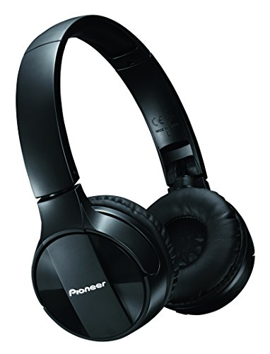 Pioneer SE-MJ553BT Cuffie Wireless con connessione Bluetooth, Nero