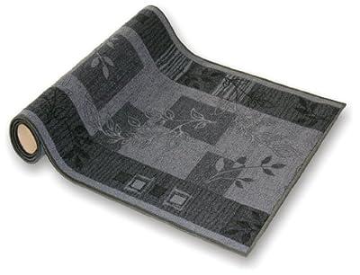 Teppichläufer für Flur grau