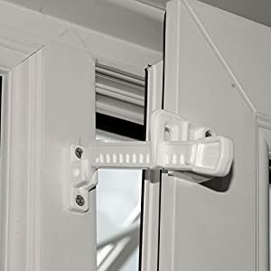 2-X-Upvc-Window-Ventilation-Restrictor-Safety-Locks-Tilt-and-Turn-Window-Lock-White