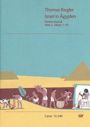 Riegler: Israel in Ägypten. Partitur