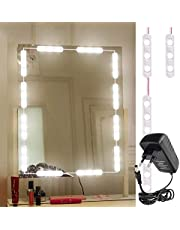 Citra Mirror Light Kit Hollywood Style 10 Feet Vanity Make-up Light DIY LED Light Kits Dressing Mirror Light Kit Mirror Lamp Kit for Cosmetic Makeup Vanity, 60LEDs Light - Warm White