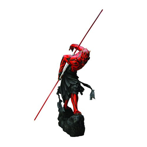 Kotobukiya KotSW60 - Star Wars Darth Maul Art FX Light-Up Statue Model Kit 28 cm