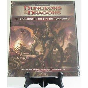Play Factory - Dungeons & Dragons 4.0 : le Labyrinthe du Pic du Tonnerre