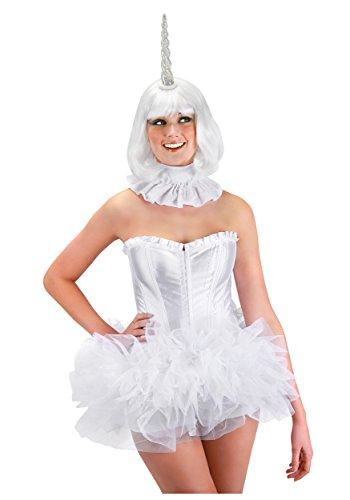 Leuchtendes Einhorn Kostüm-Accessoire mit Farbwechsel Lichteffekt - bunt - Einheitsgröße (Einhorn Kostüm Accessoires)