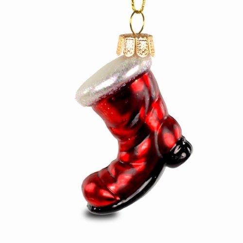 SIKORA Christbaumschmuck Glas Ornament / NIKOLAUS STIEFEL - H: 7cm