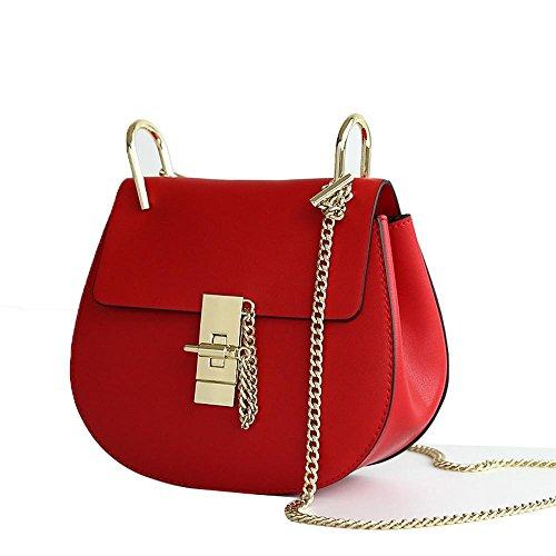 Damen Schulter Messenger Bag Damen Kette kleine Schwein Tasche einfache wilde kleine Tasche 2