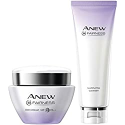 Avon anew 360 Fairness day cream SPF20 50g and Fairness cleanser 125g