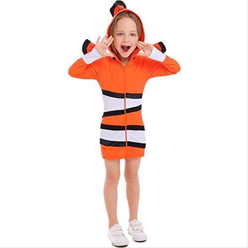 Erwachsene Für Fisch Kostüm Clown - HG-amaon Vaterschaftsanzug der Clown-Fisch-Ozean-themenorientierten Partei, Kostüm Halloweens Cosolay M Orange