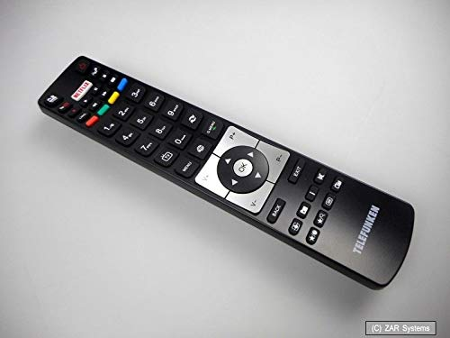 Original Telefunken RC5118 Fernbedienung, Remote Control, Netflix, YouTube