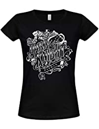 Officially Licensed Merchandise Inked Dark Knight Girly Tee