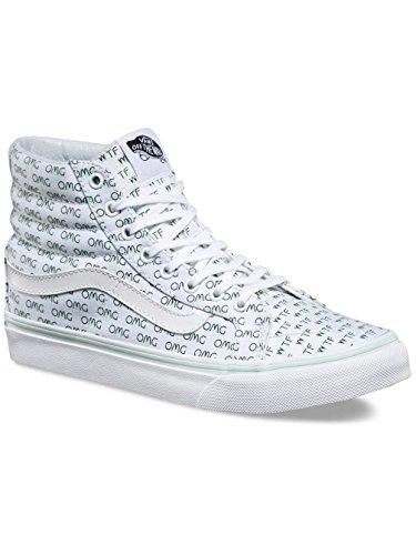 Vans Damen Ua Sk8-Hi Slim Hohe Sneakers weiß / mint
