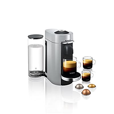 Nespresso Vertuo Plus Coffee Machine, Black finish by Magimix by Dualit