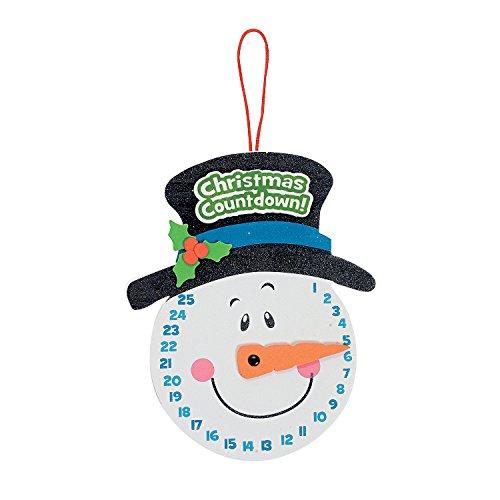snowman-christmas-countdown-sign-craft-kit-makes-12