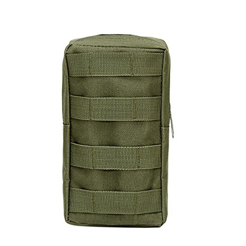 Tracffy Outdoor Sports 600D MOLLE Utility Tactical Medical Waist Pouch Bag For Outdoor Hunting Wilderness Camping Hiking - Army Green - Pouch Molle Medical