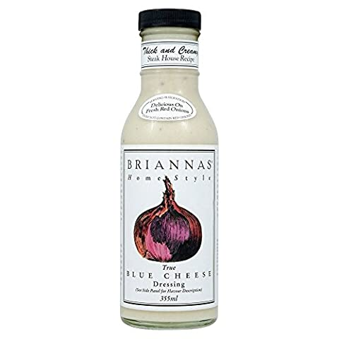 Briannas Home Style Blue Cheese Dressing (355ml) - Pack of