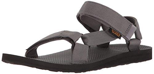 Teva Herren Original-Universal-Sandale - Charcoal, Grau, 42