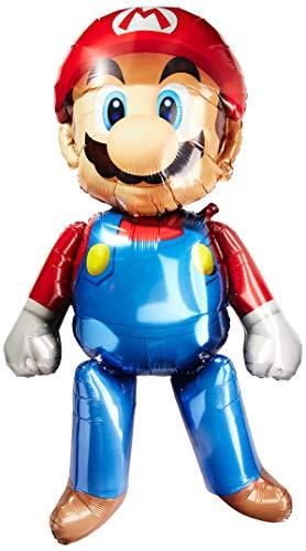amscan 3231701 Super Mario - Andador de Aire (36 x 60 Pulgadas, Talla XL)