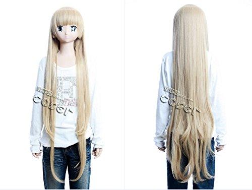 A Victoria de Blois blond 108cm Cosplay Perücke Wig Perruque (Victoria Blonde Perücke)